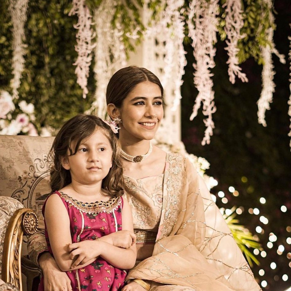 Adorable Throwback Pictures Of Syra Yousuf With Her Daughter