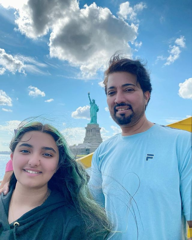 Javeria Saud Vacationing With Her Family In New York