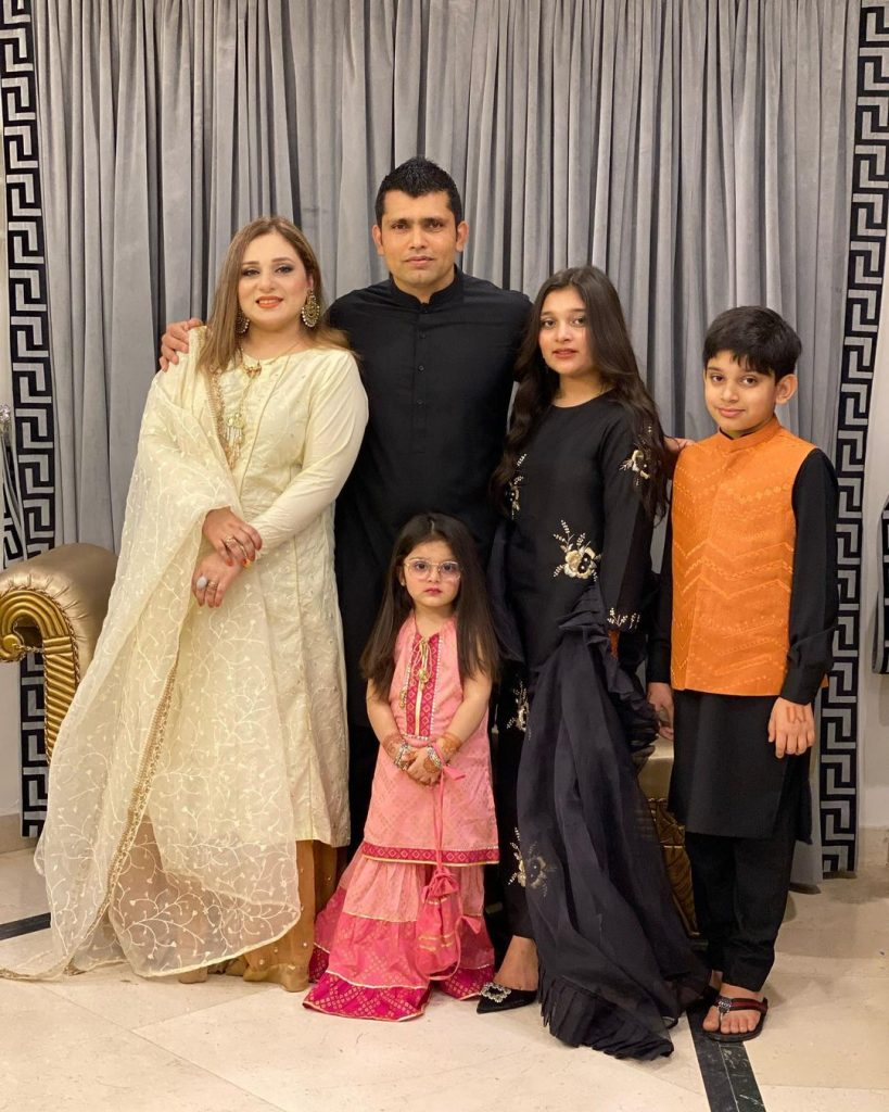 Beautiful Family Pictures Of Cricketer Kamran Akmal From Eid-Ul-Adha 2021