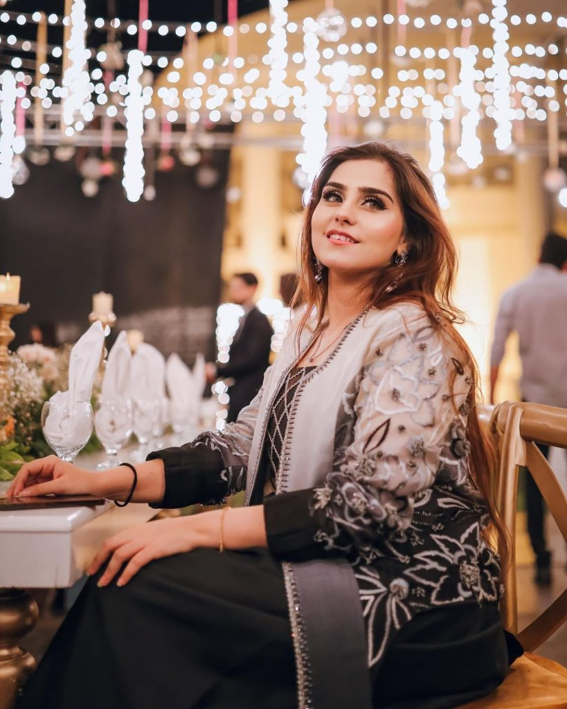Komal Baig With Husband Enchanting Pictures From Aima Baig's Engagement
