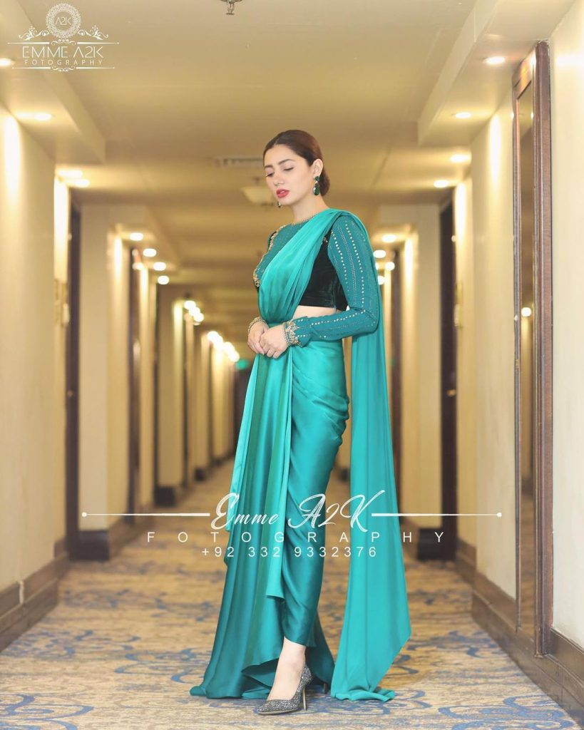 Mahira Khan Beautiful Portraits From NASFF