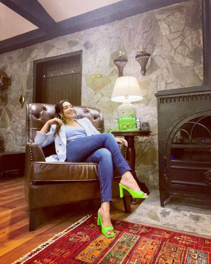 Maira Khan Enjoying Vacations In Georgia