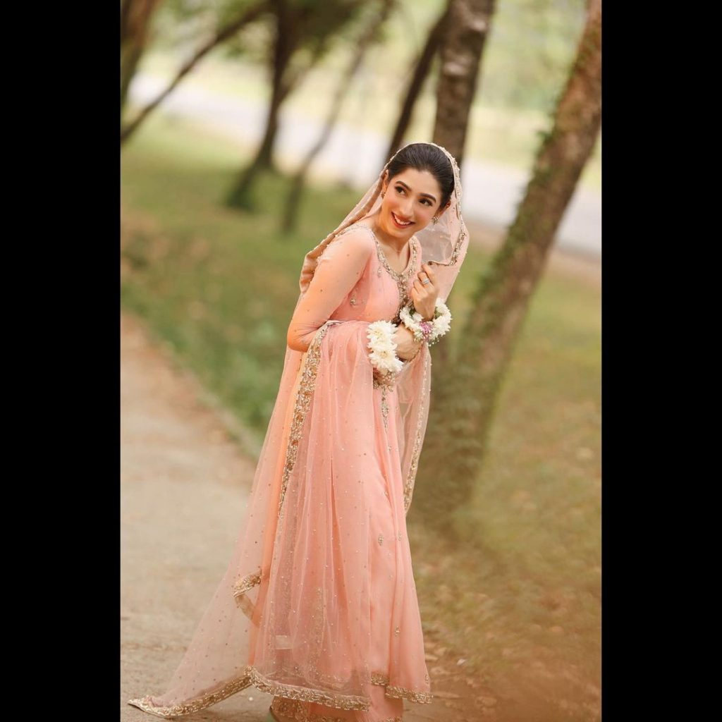 Mariyam Nafees Shares Her Beautiful Bridal Look - Pictures