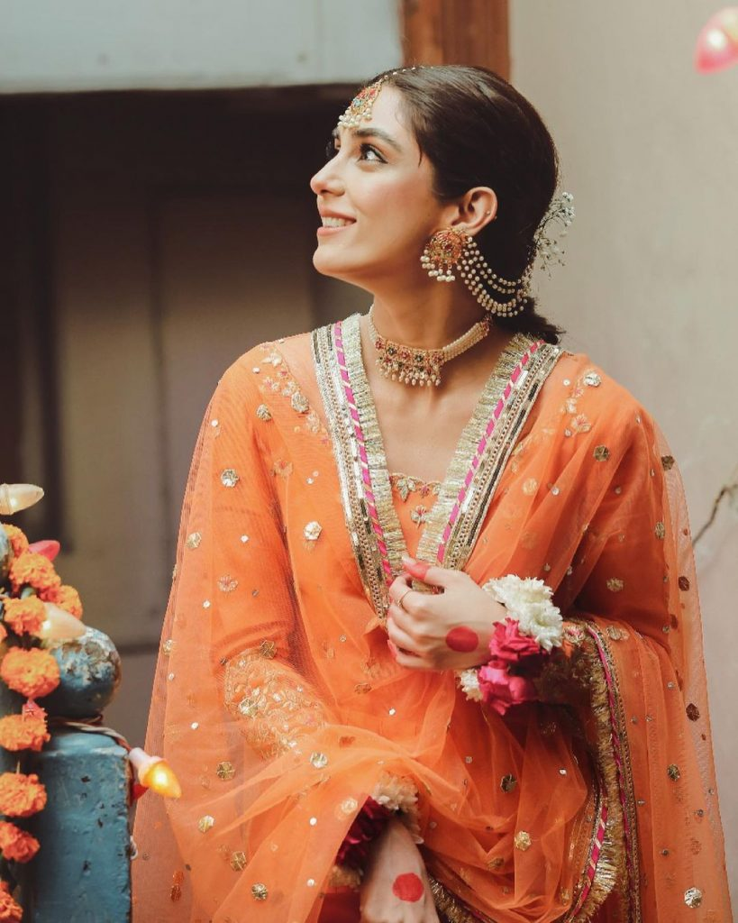 Maya Ali Turns Heads In Bridal Shoot From The Sets Of Pehli Si Mohabbat