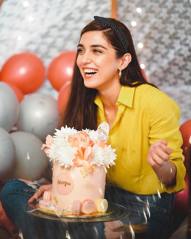 Inside Maya Ali's Colorful Birthday Bash