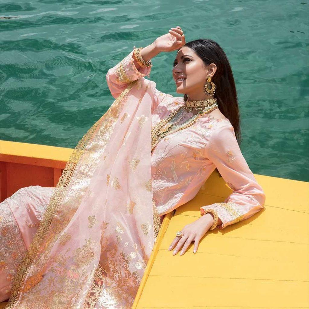 Mehwish Hayat Looks Alluring In Shoot For Nisa Hussain X Ittehad