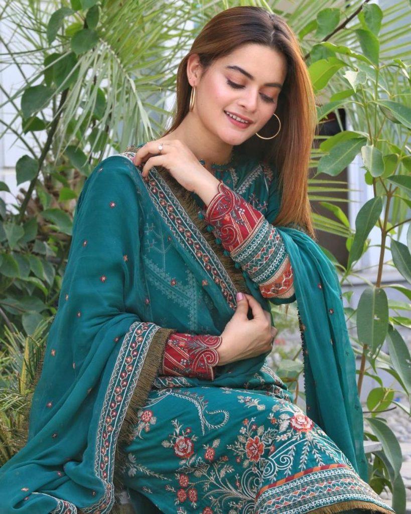 Minal Khan Serves Major Fashion Goals In Eastern Summer Outfits