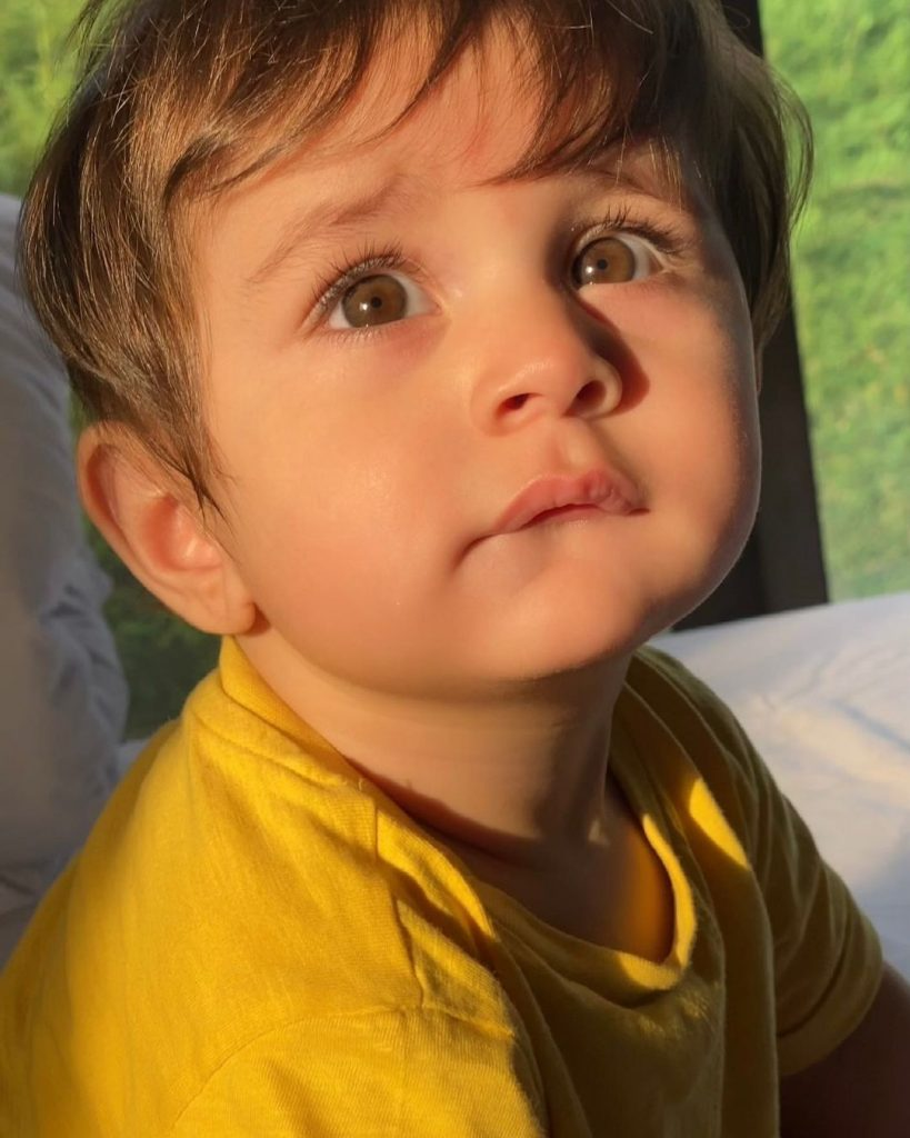 Adorable Clicks Of Mustafa Abbasi On His First Birthday