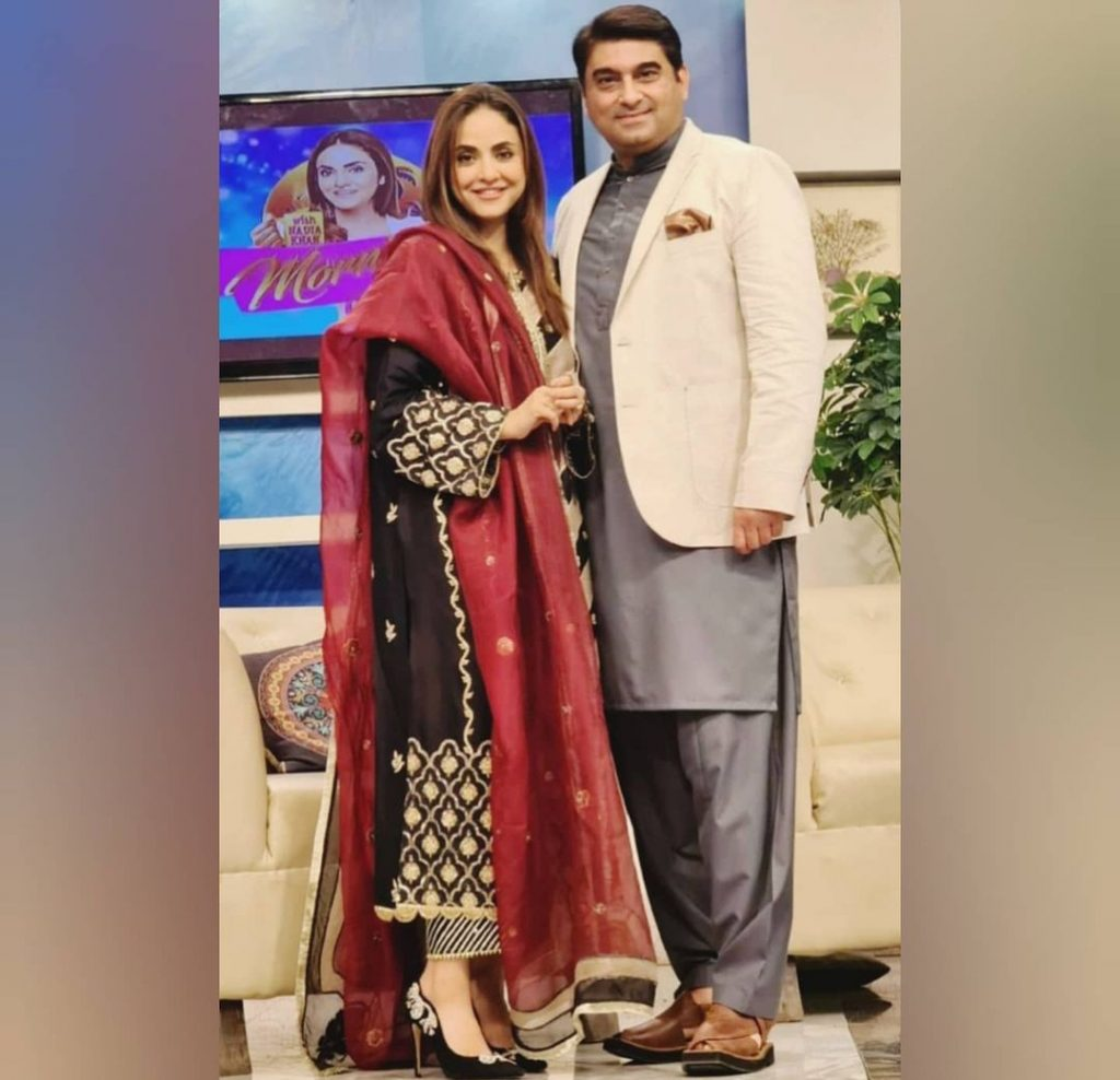 """Nadia Khan Paying Visit To Her """"Susral"""" For the First Time"""