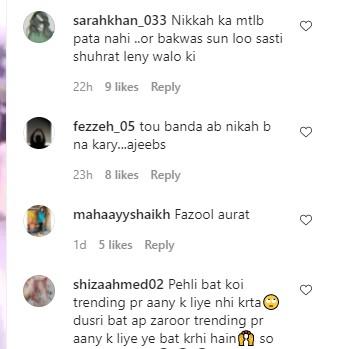 Nimra Ali Facing Criticism For Her Remarks On Tik Toker's Weddings