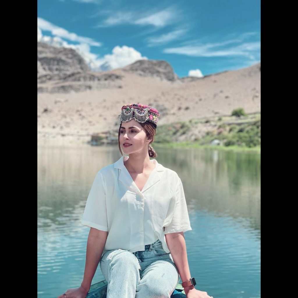 Nimra Khan Vacationing In Northern Areas Of Pakistan