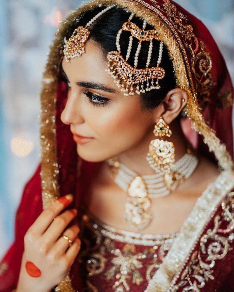 Maya Ali Stuns As Traditional Bride From Pehli Si Mohabbat