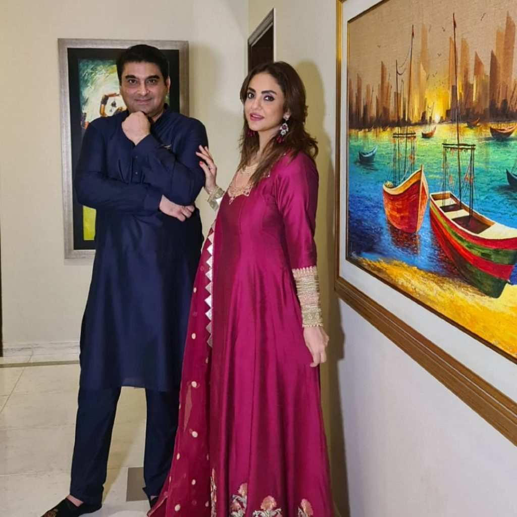 Faisal Rao Visited Nadia Khan's Father's House For The First Time