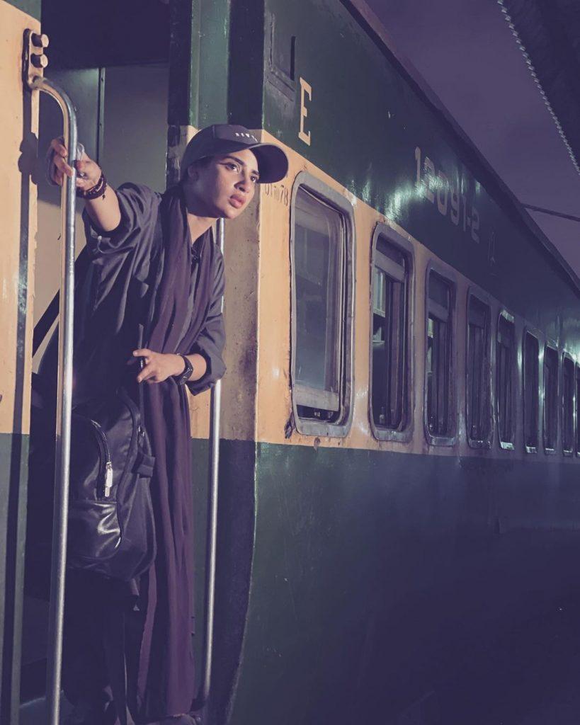 Drama Serial Parizaad - BTS Pictures
