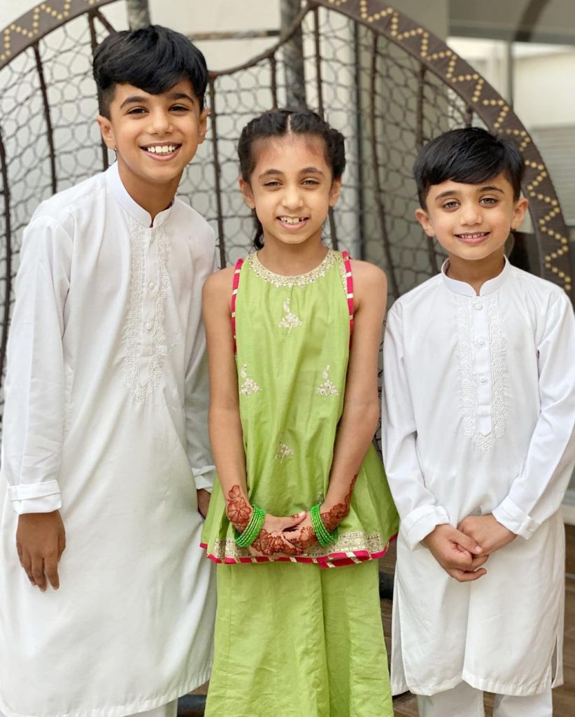 Rahim Pardesi Spent A Blissful Eid Day With Wives And Kids