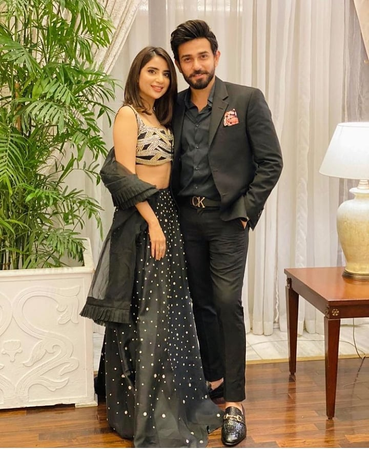 Saboor Aly And Ali Ansari Face Backlash On Their Recent Pictures