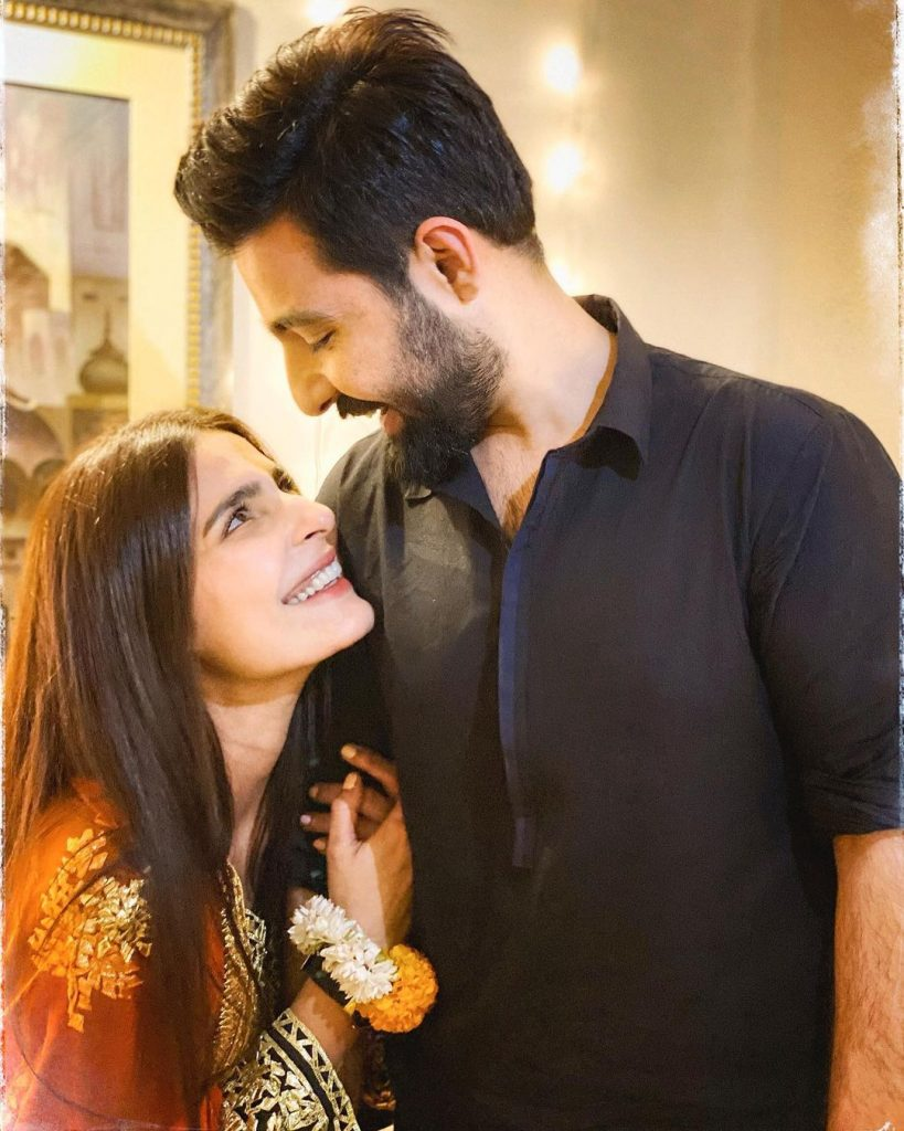 Sadia Ghaffar And Hassan Hayat Blessed With A Baby Girl
