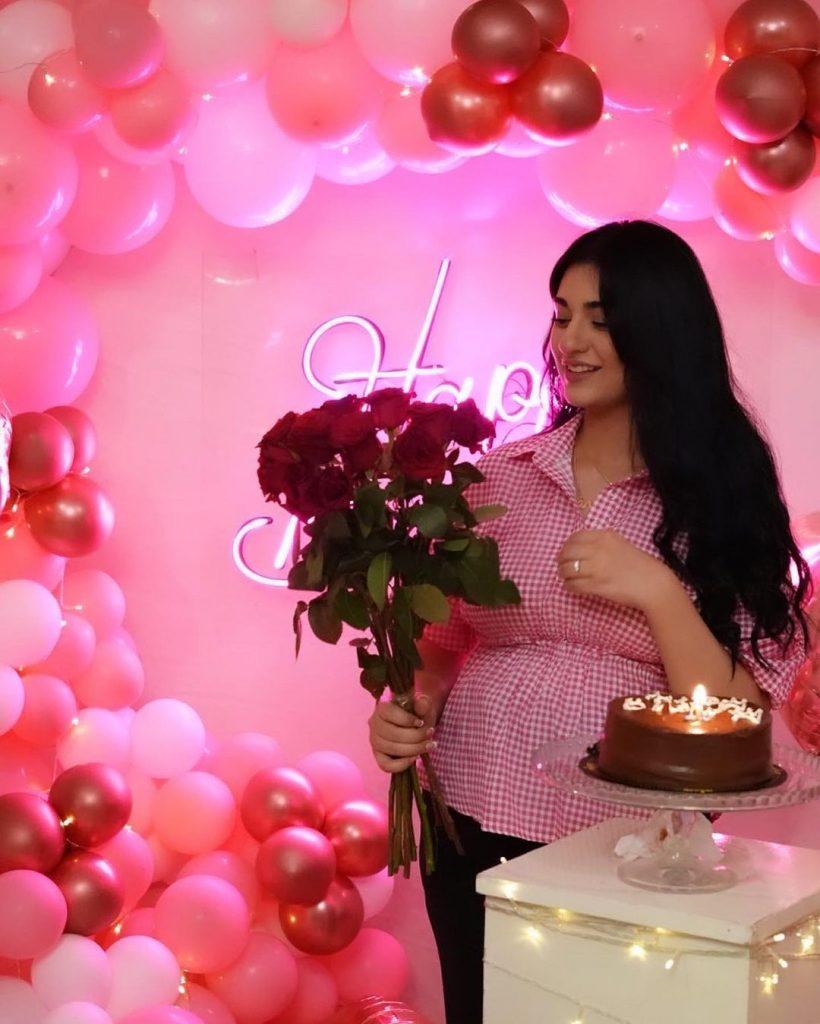 Sarah Khan Gets A Delightful Birthday Surprise From Falak Shabbir