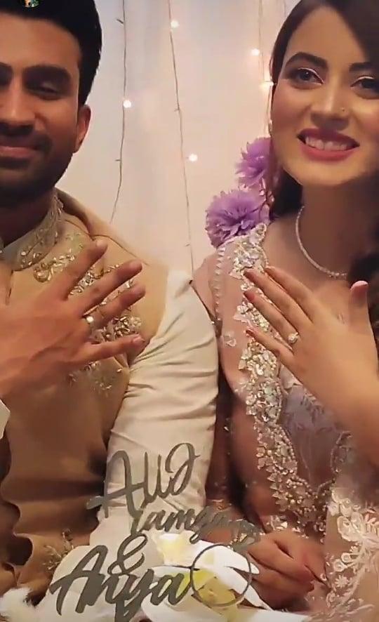 Shagufta Ejaz's Eldest Daughter Got Engaged