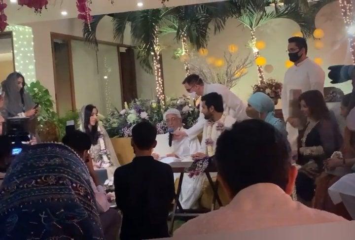Shahmir Shunaid Grand Son Of Sultana Siddiqui Tied The Knot