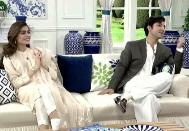 Sadaf Kanwal And Shahroz Sabzwari Share Their Opinion Regarding Children