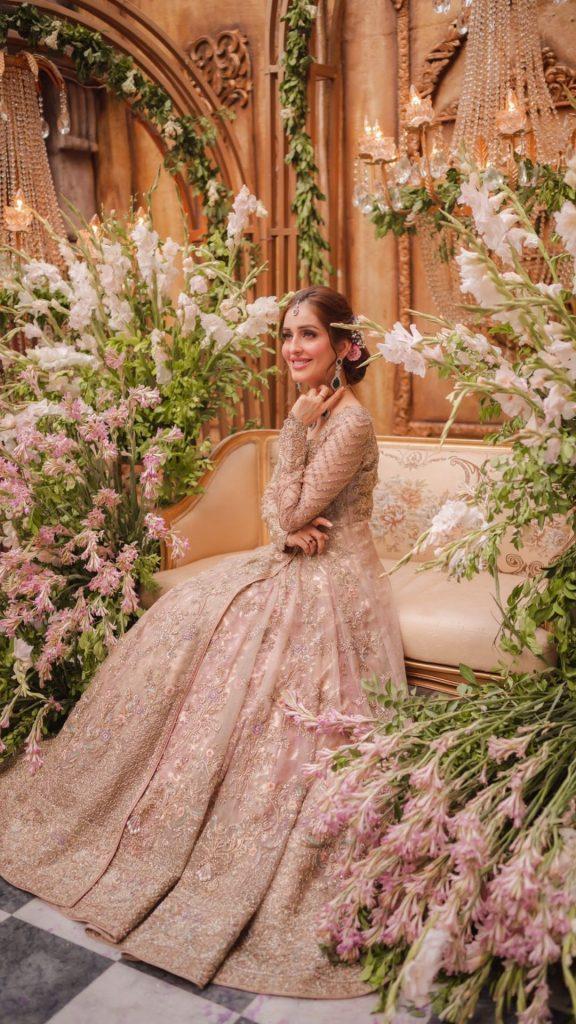 Farah And Fatima Bridal Attire Featuring Sidra Niazi