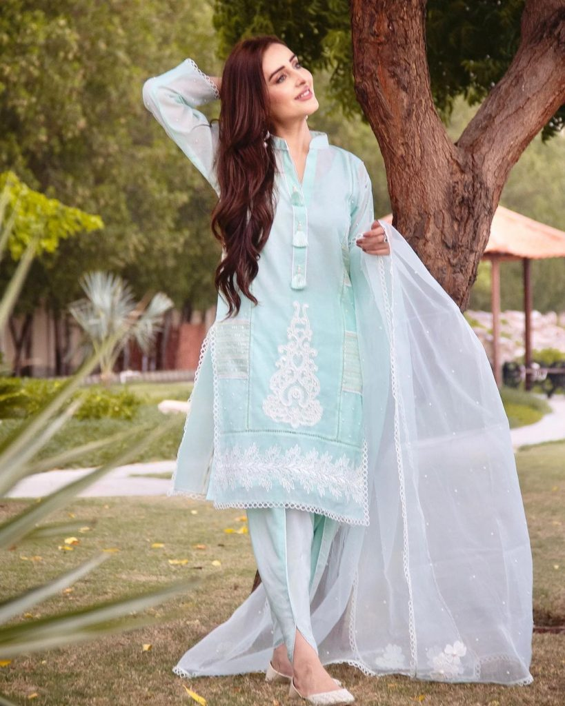 Bewitching Eid Clicks Of Sidra Niazi