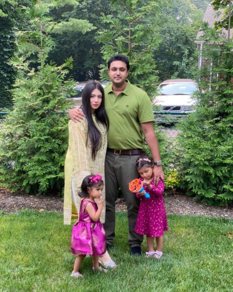 Sidra Batool Adorable Family Clicks From Eid