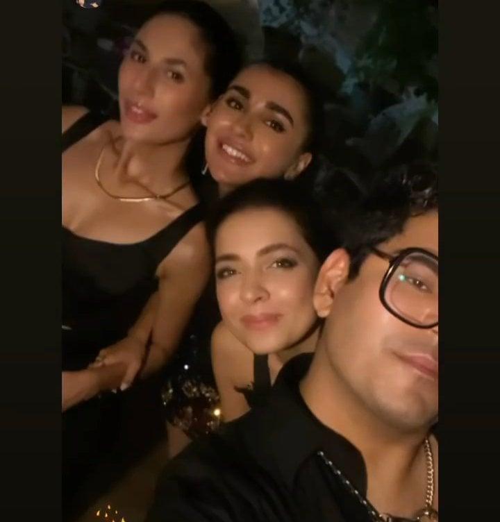 Celebrities Spotted At Fashion Model Sona Rafiq's Birthday Bash