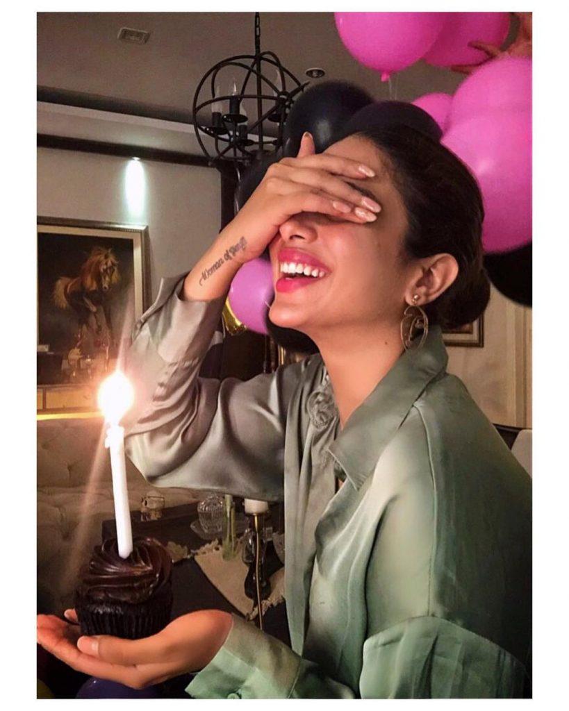 Sonya Hussyn Celebrates Her Birthday In Style