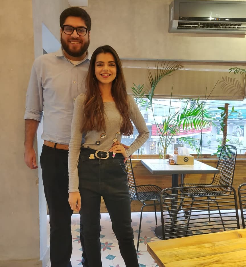 Adorable Pictures Of Srha Asgr With Her Husband