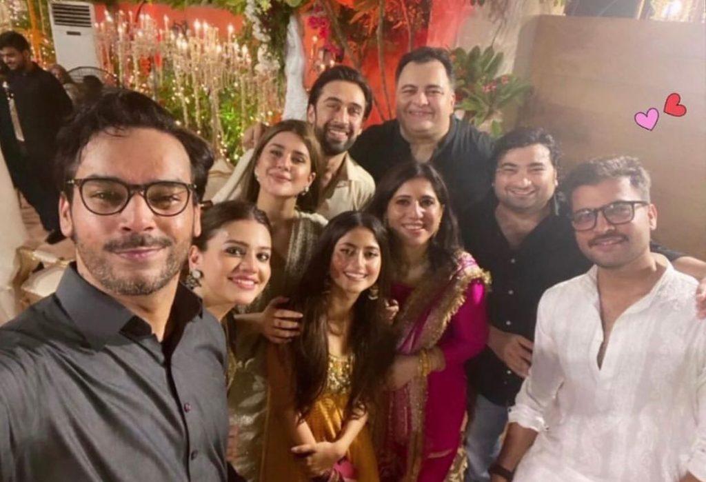 Top Pakistani Stars At Sultana Siddiqui's Grandson's Wedding