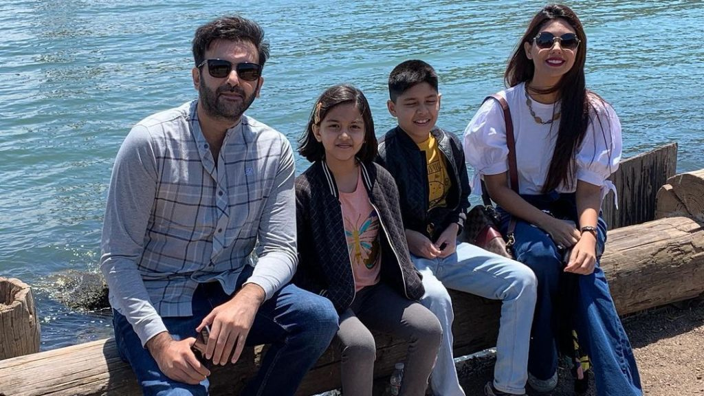 Beautiful Pictures Of Sunita Marshall And Family Vacationing In California
