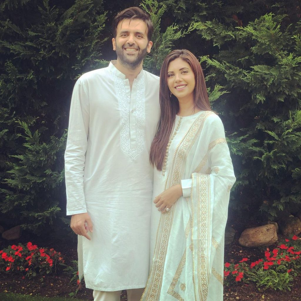 Celebrities Twining With Their Spouses And Children On Eid