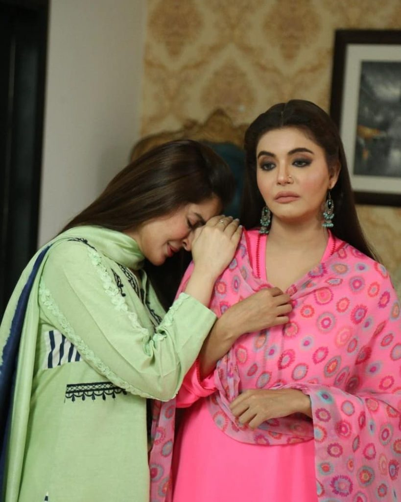 BTS Pictures From The Sets Of Telefilm Uff Ye Biwiyan