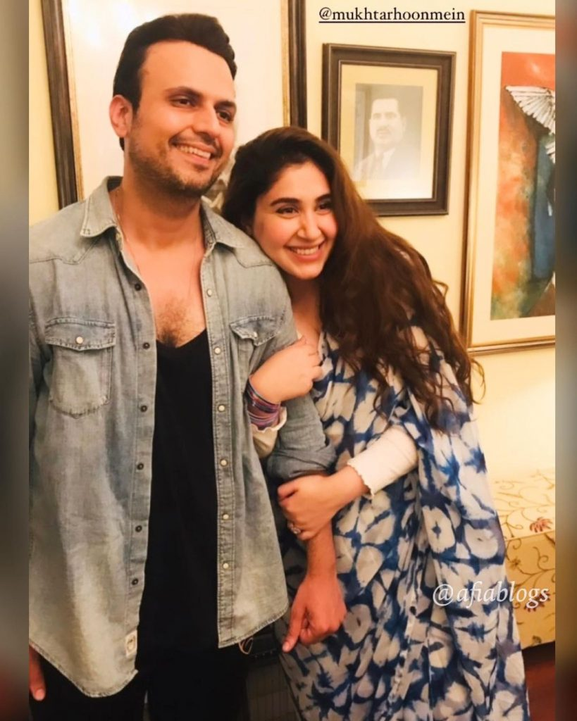Usman Mukhtar's Wife Zunaira Inam Khan Showing Support For Her Husband