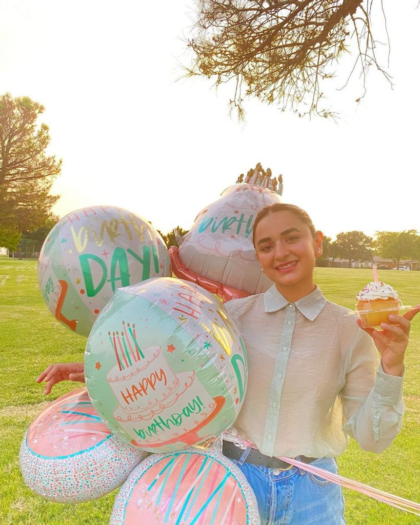 Adorable Pictures From Yumna Zaidi's Birthday