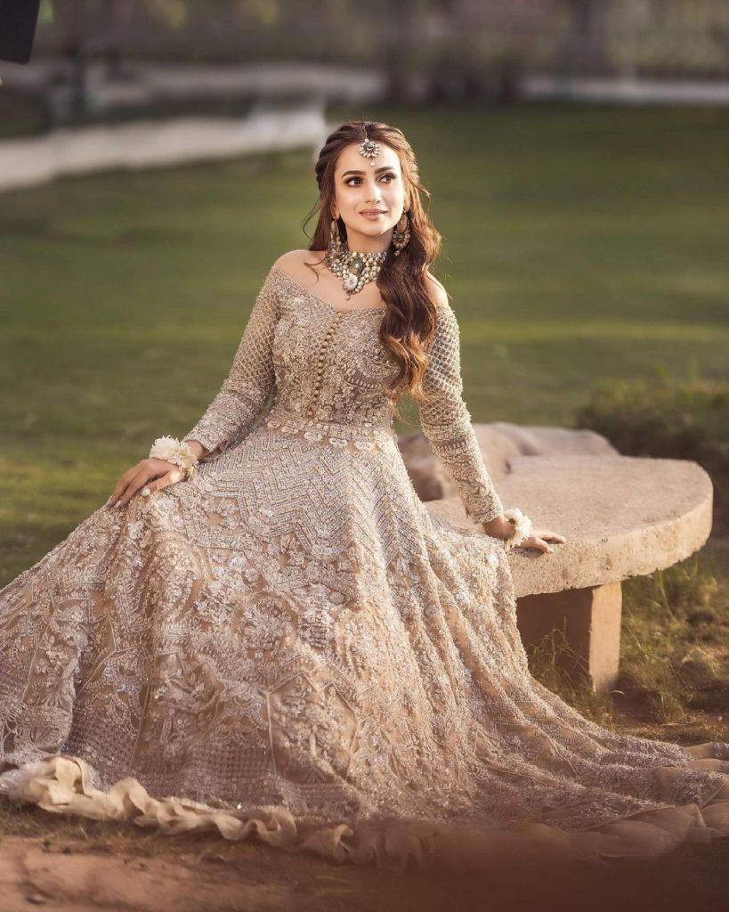 Zarnish Khan Flaunts Elegance In Her Latest Bridal Shoot