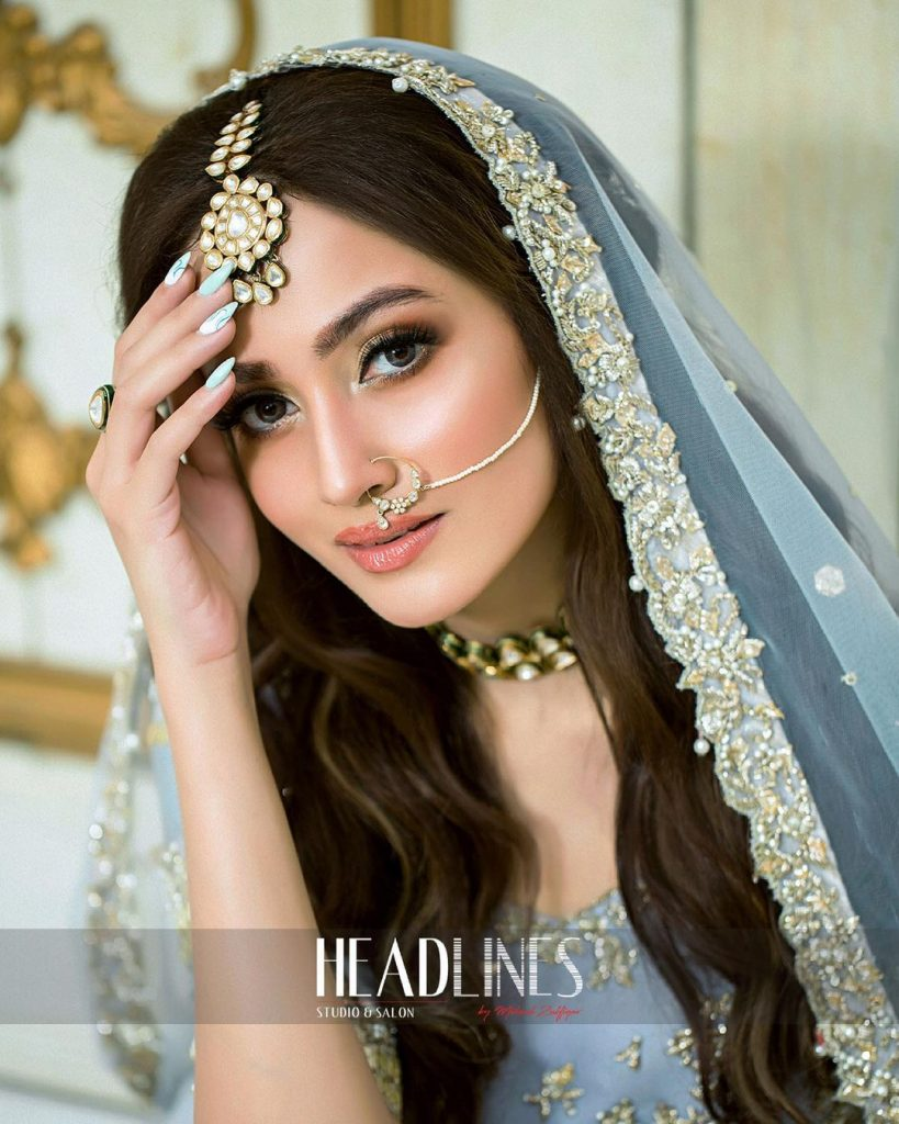 Zuria Dor Bridal Collection Featuring Zarnish Khan