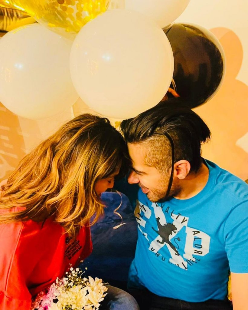 Actress Zohreh Amir Beautiful Pictures With Husband
