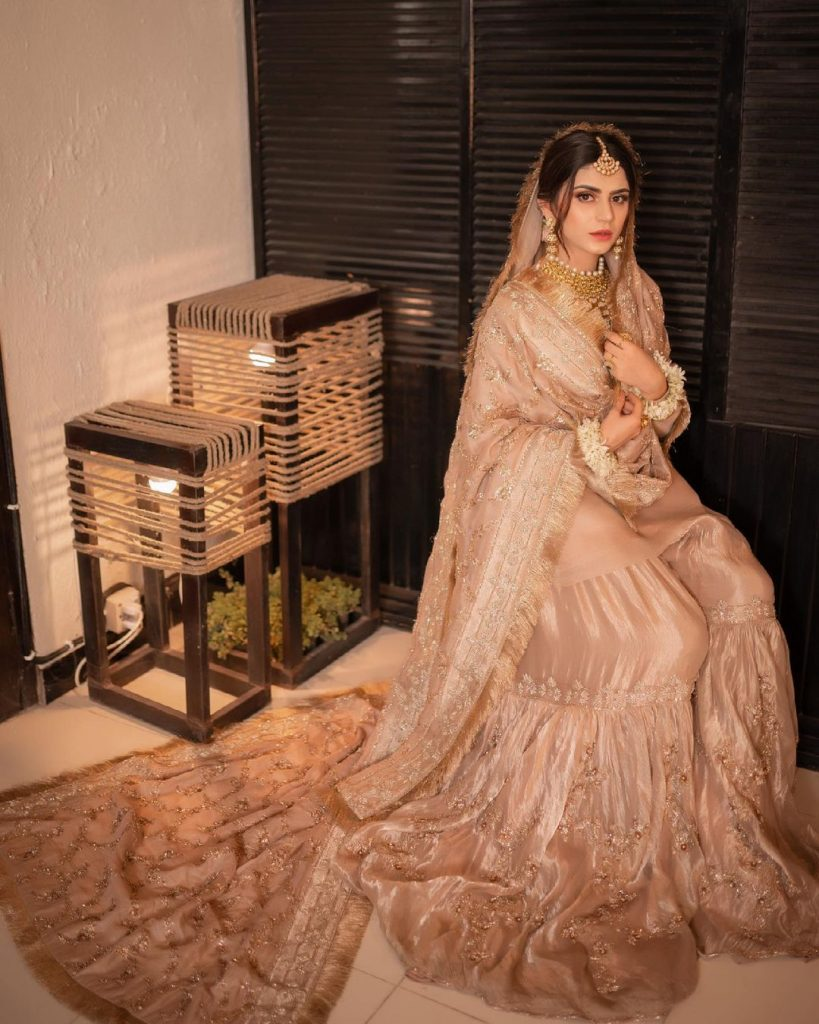 Zubab Rana Looks Absolutely Regal In Her Latest Bridal Shoot