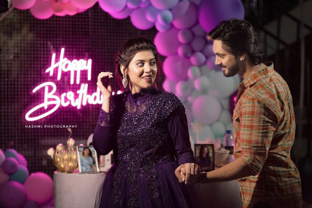 Alluring Pictures From Aiman Zaman's Birthday Bash