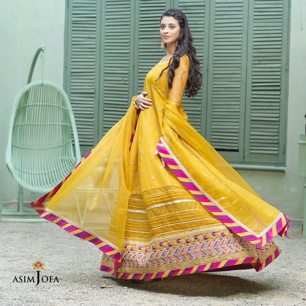 Asim Jofa's Latest Unstitched Collection Featuring Famous Celebrities