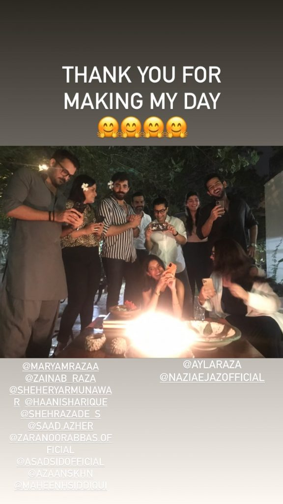 Celebrities Spotted At Director Asim Raza's Birthday Bash