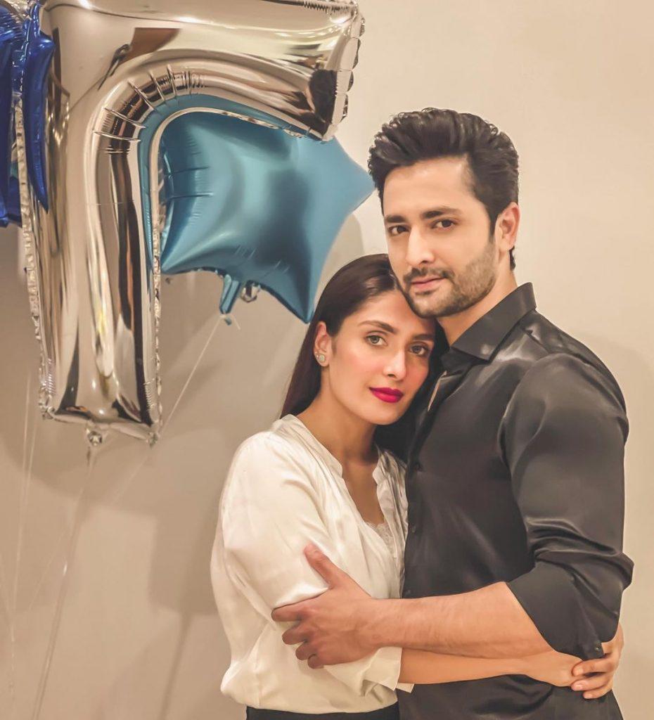 Celebrities Wish Ayeza Khan And Danish Taimoor On Their 7th Wedding Anniversary