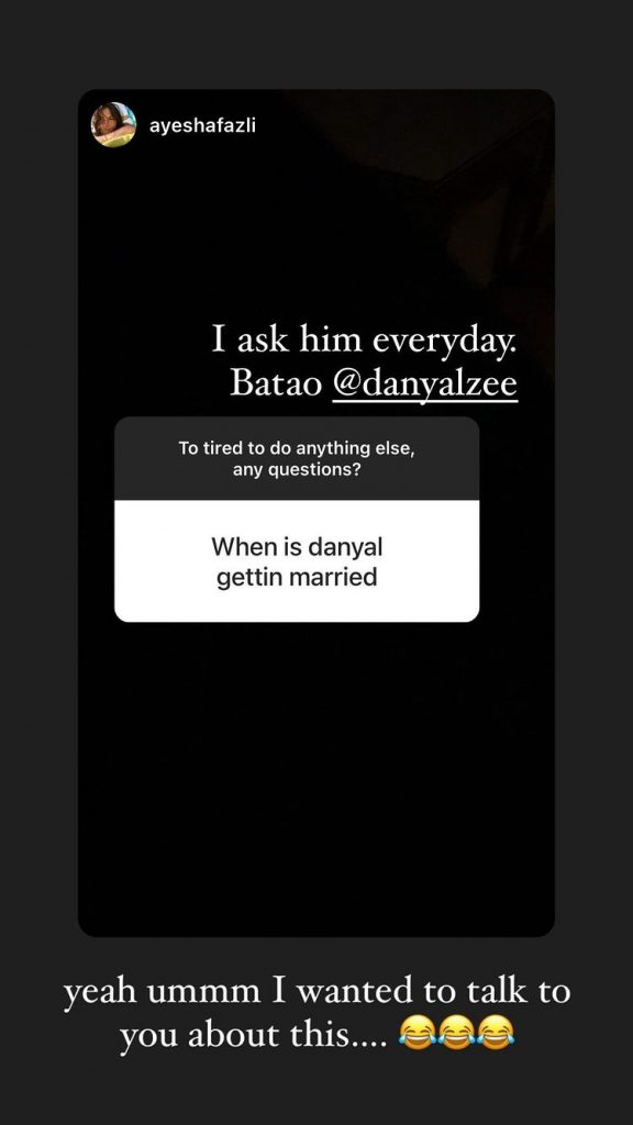 Danyal Zafar Hints At Getting Married Soon