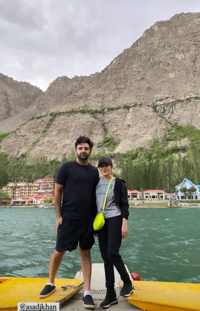 Fawad Khan Spotted Vacationing With Family And Friends