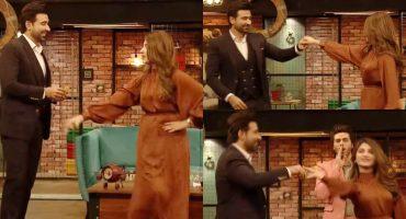 Kinza Hashmi And Sami Khan Dance Performance