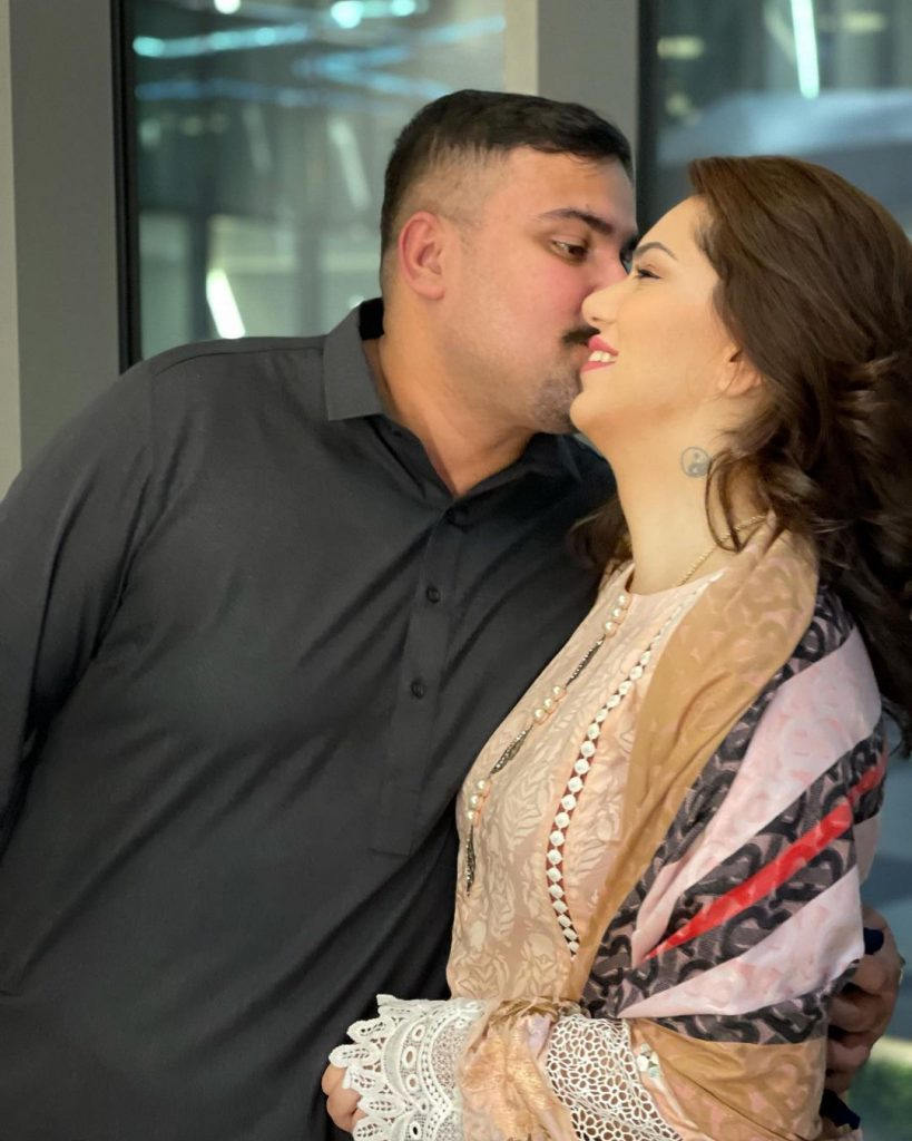 Netizens Criticize PDA-Filled Pictures Of Ghana Ali With Husband