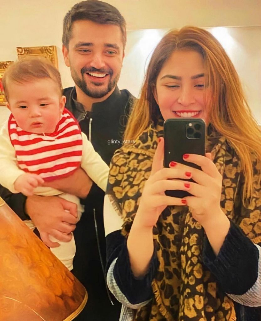 Top 10 Adorable Family Pictures Of Hamza Ali Abbasi